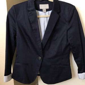 H&M navy blue blazer